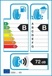 Från 2012 måste alla däck har EU:s däckmärkning